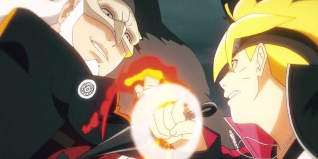 Naruto Boruto Kashin Koji Fight Anime Tease