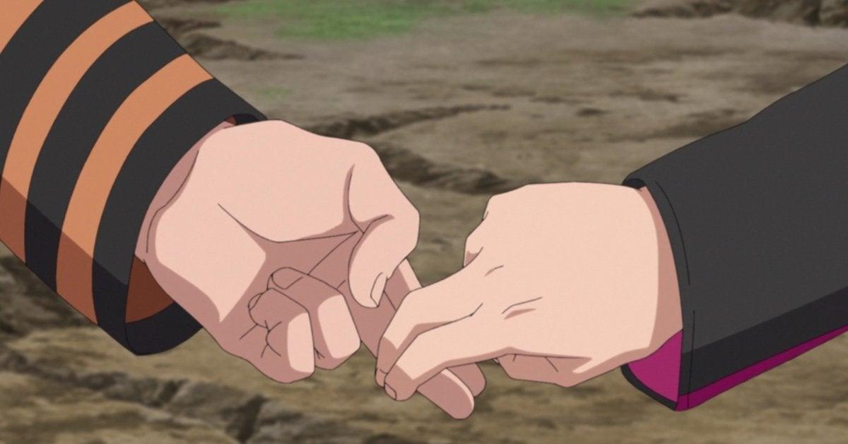 Naruto Boruto Training Session Unison Sign