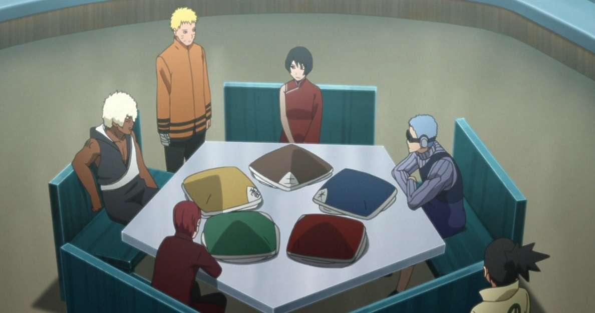 Naruto Kage Summit