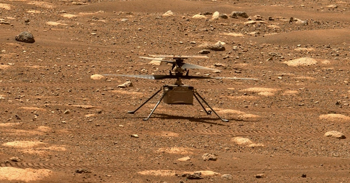 nasa ingenuity helicopter perseverance