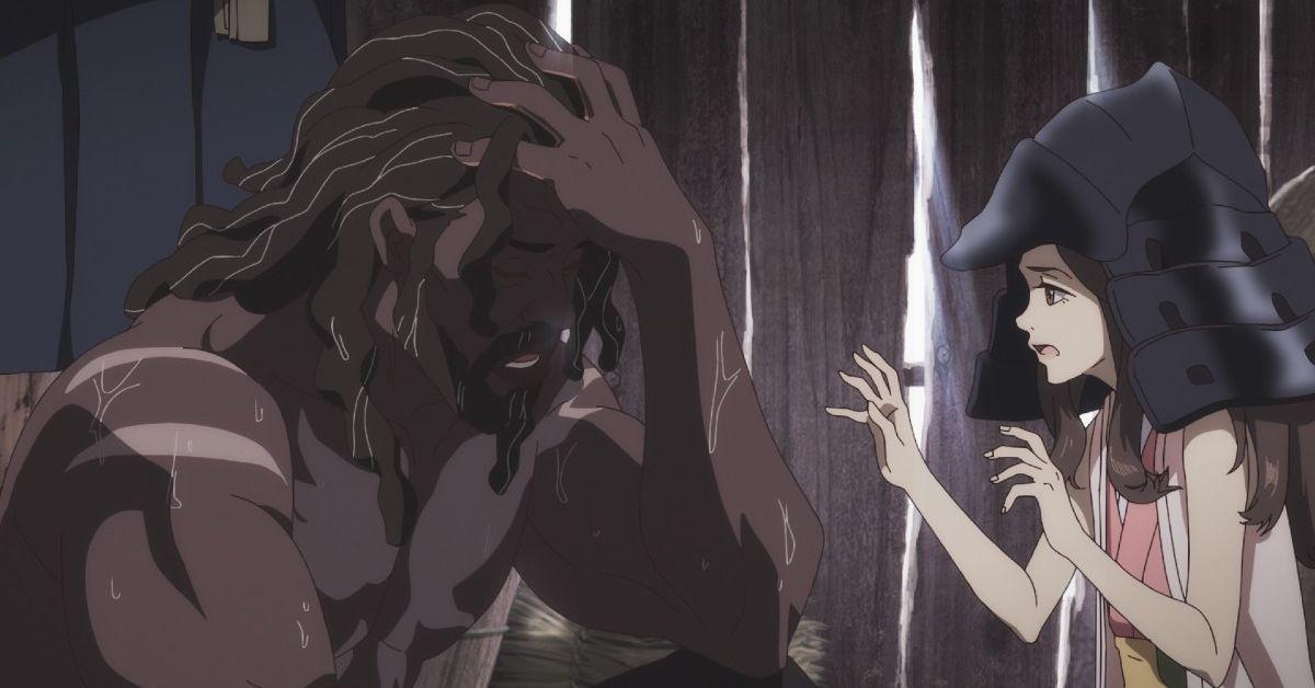 Netflix Anime Yasuke Saki