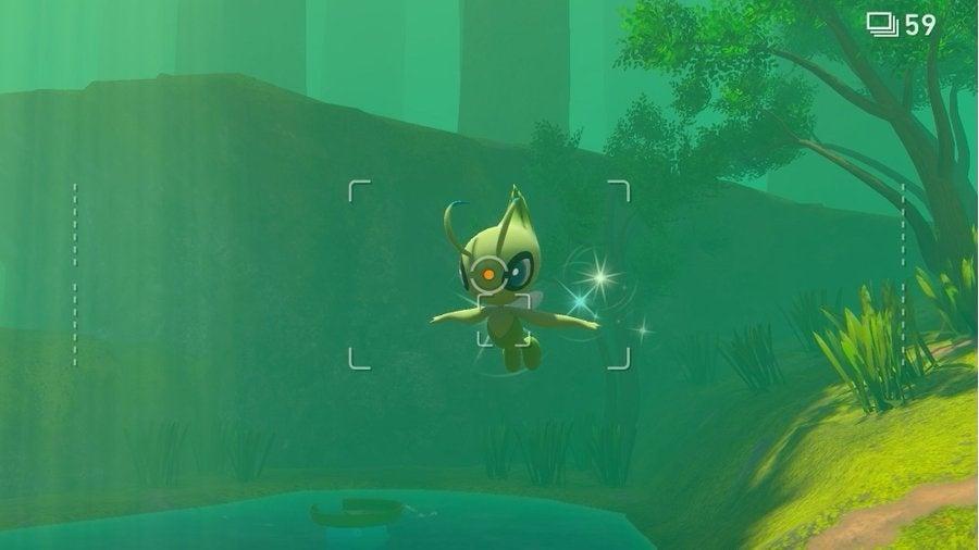 new pokemon snap celebi