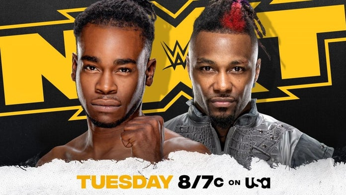 NXT-Tuesday-Debut-Ruff-Swerve-Match
