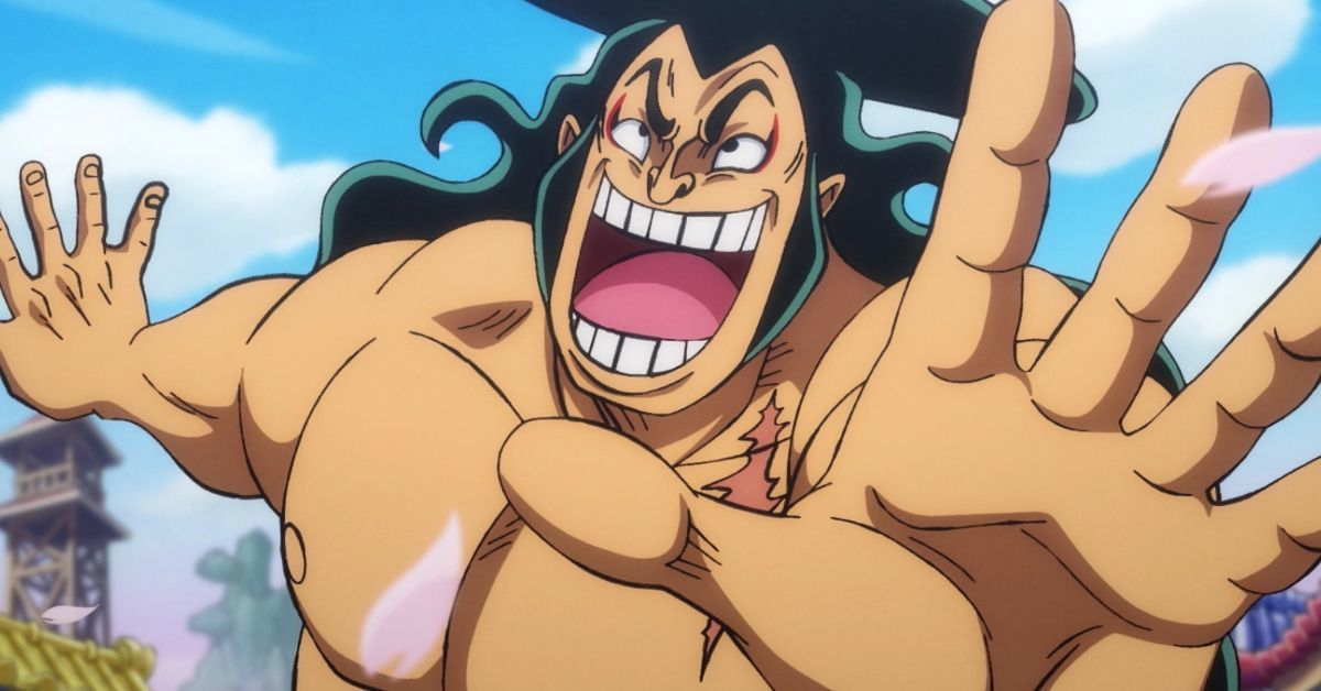 One Piece Oden Dance Anime