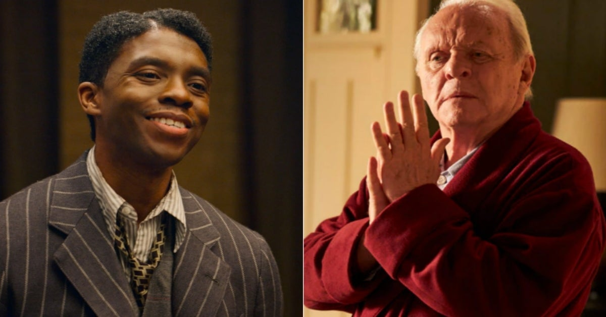 Oscars 2021 Chadwick Boseman Anthony Hopkins Best Actor