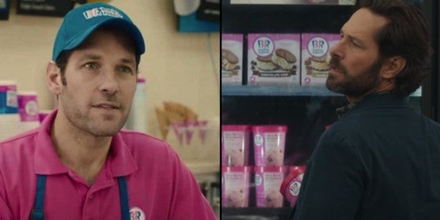 Paul Rudd Ghostbusters Marvel Baskin Robbins Universe
