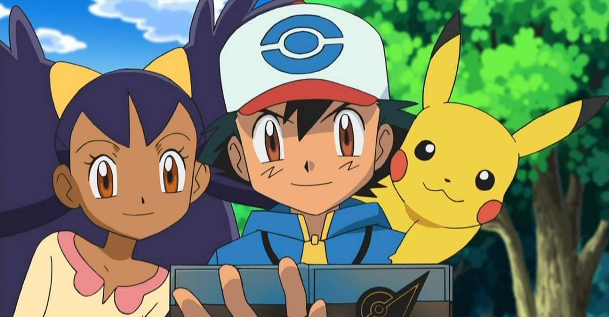 Pokemon Iris Ash