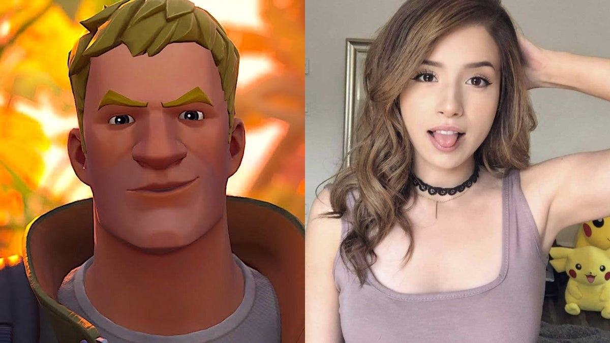 pokimane fortnite
