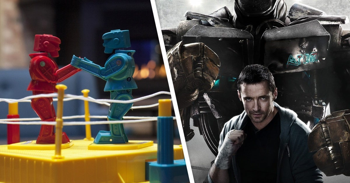 rock em sock em robots real steel