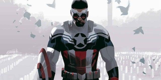 Sam Wilson Falcon Captain America MCU Costume