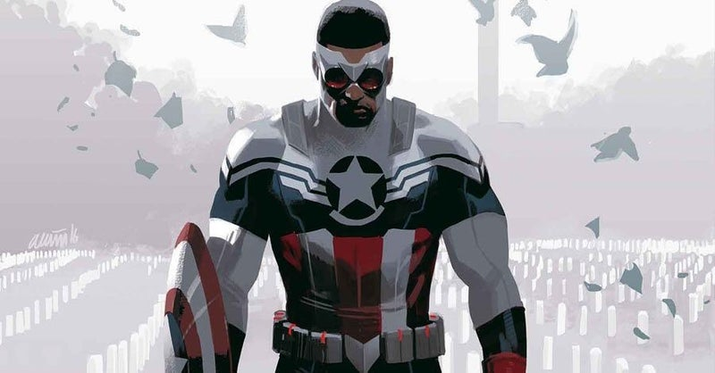 Sam Wilson Falcon Captain America MCU Costume