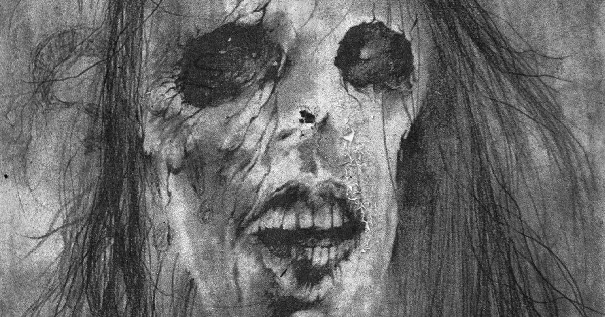 scary stories artwork gammell slasher movies