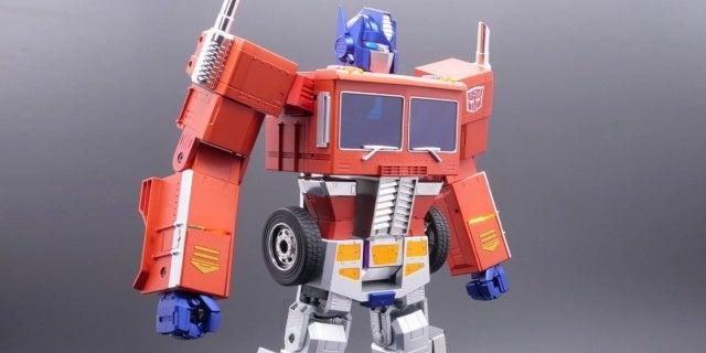 self transforming optimus prime