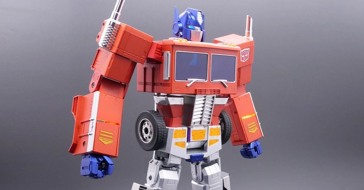 self transforming optimus prime