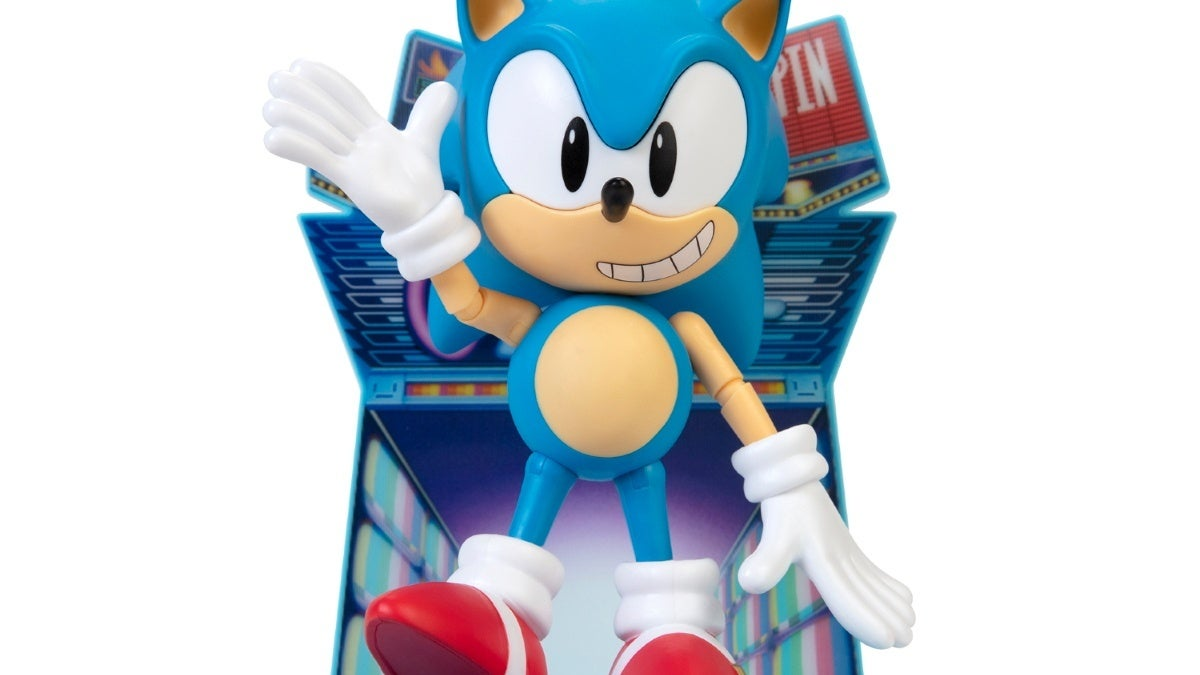 sonic jakks new cropped hed