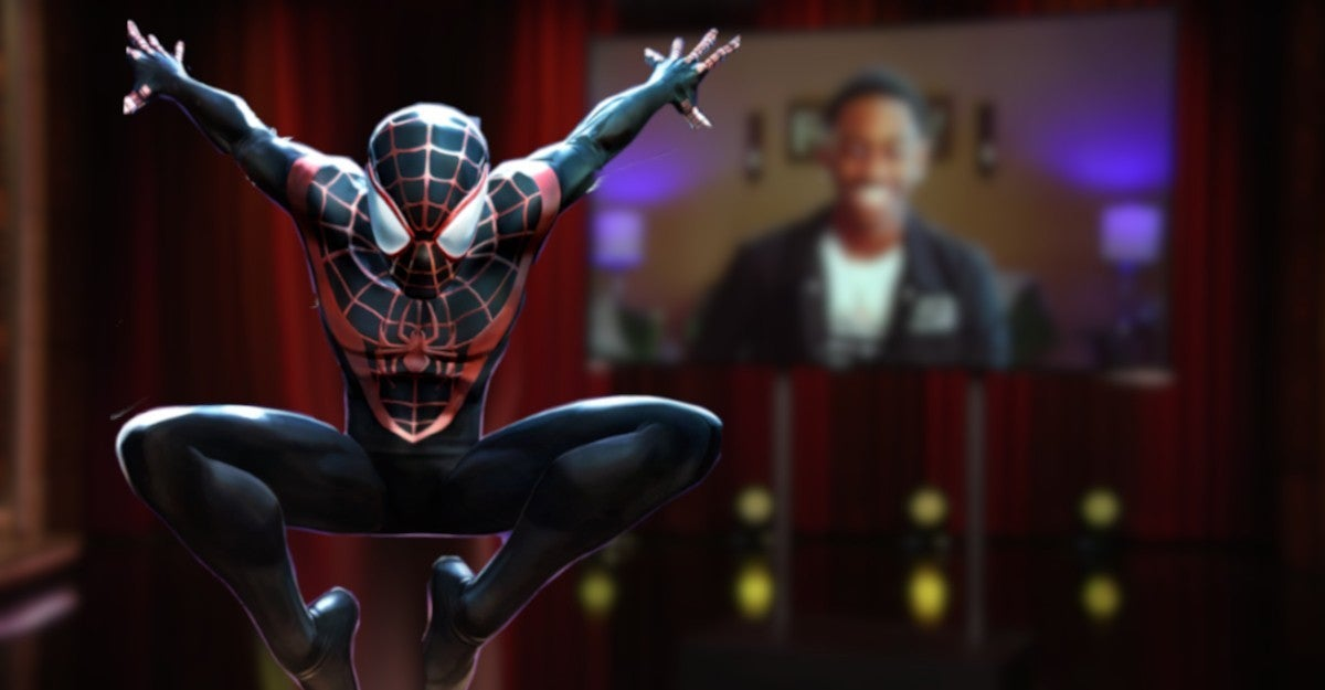 Spider Miles Morales Live Action Movie Dorien Scott Corvette Dance TikTok