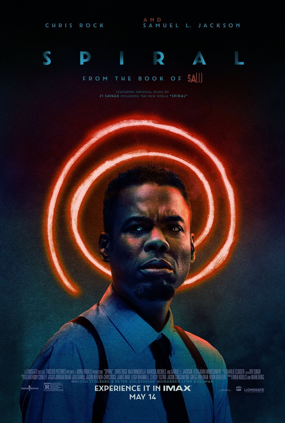 spiral from the book of saw poster final chris rock