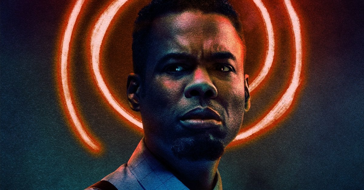 spiral from the book of saw poster final chris rock header