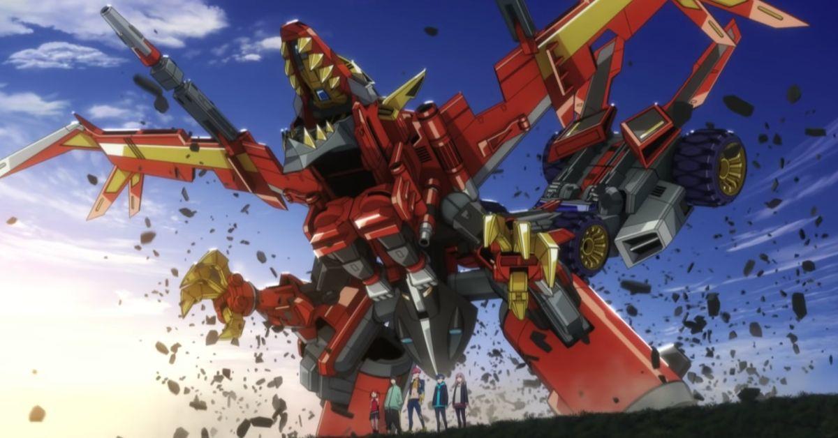 SSSSDynazenon OP Gridman Universe Anime