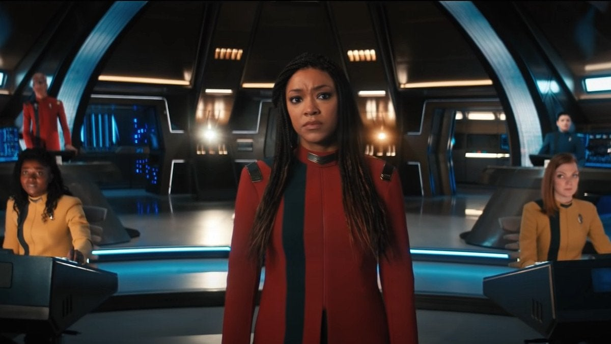 Star Trek Discovery Season 4 Trailer Starfleet Uniforms