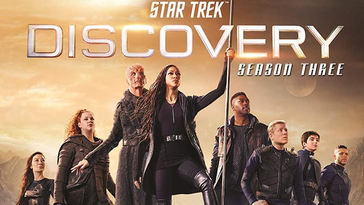 Star Trek Discovery Season Three Blu-ray