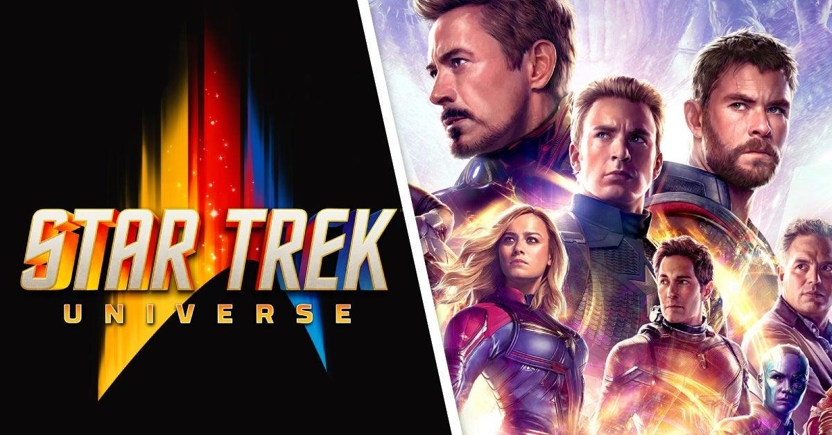 star trek universe marvel cinematic universe
