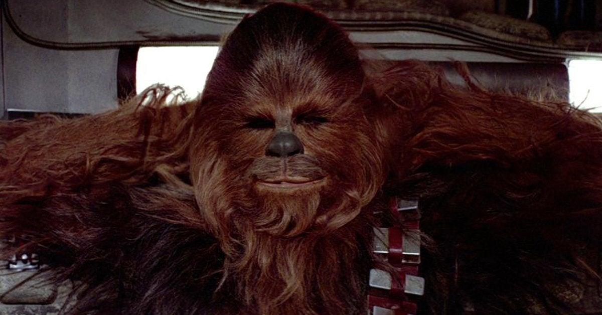star wars a new hope chewbacca