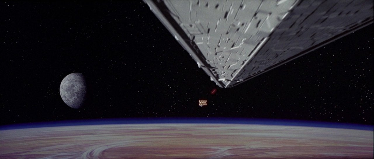 star wars a new hope opening scene star destroyer