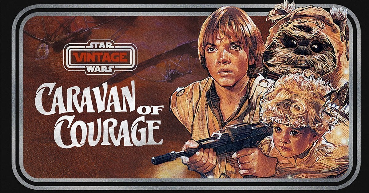 star wars caravan of courage ewok movie