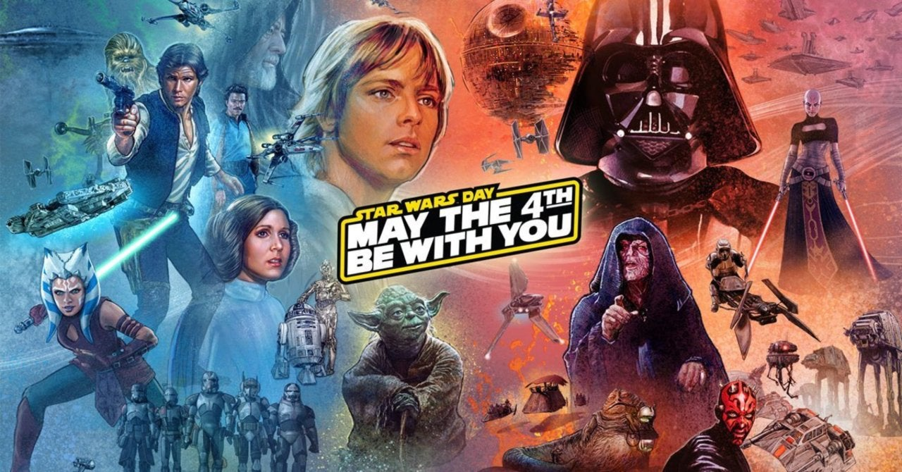 Star Wars: May the 4th Poster Omits Sequels & Mandalorian, Upsetting Fans