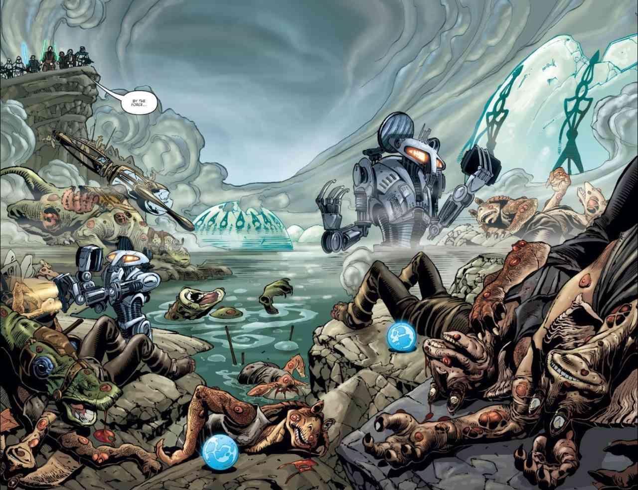 Star Wars Republic The Battle of Ohma-D'un