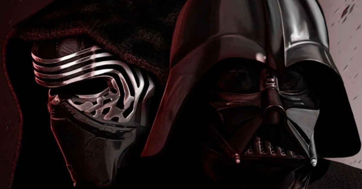 Star Wars Reveals Moment Kylo Ren Ben Solo Learned Darth Vader Grandfather Connection