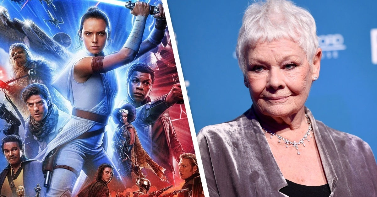 star wars the rise of skywalker judy dench