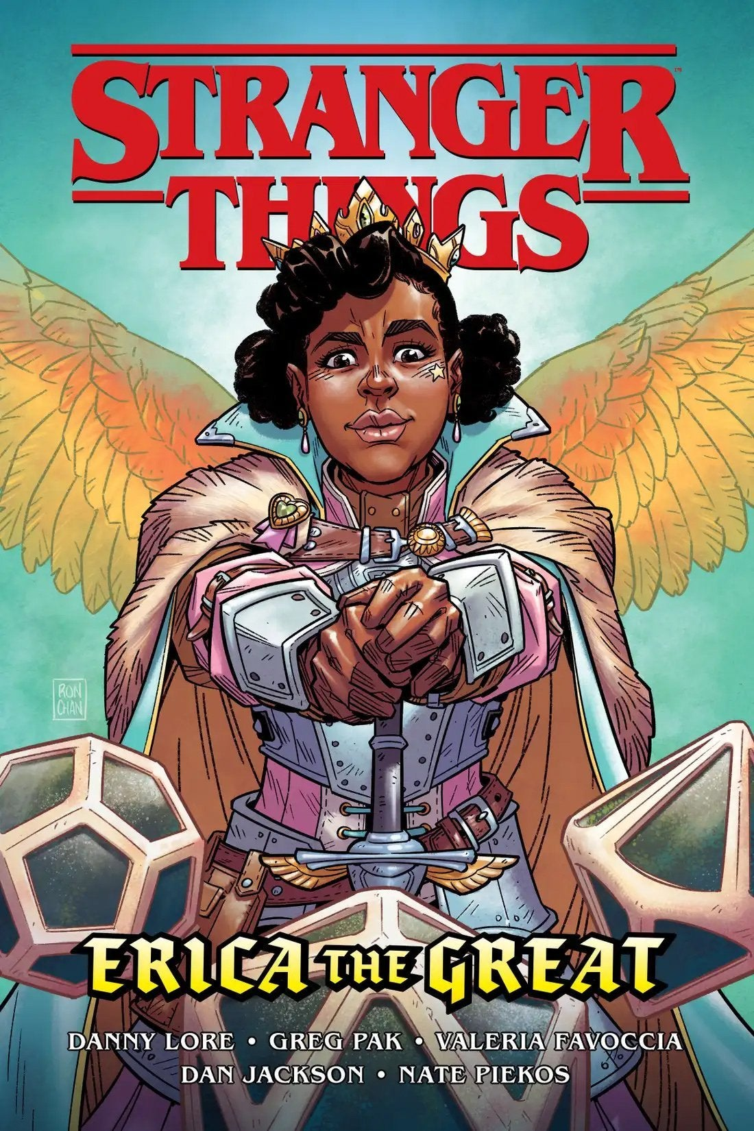 stranger things erica the great comic