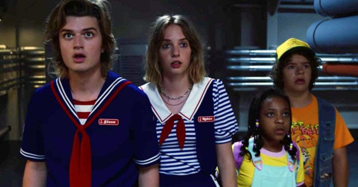 stranger things season 3 joe keery maya hawke