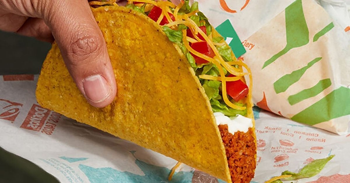 taco bell cravetarian taco