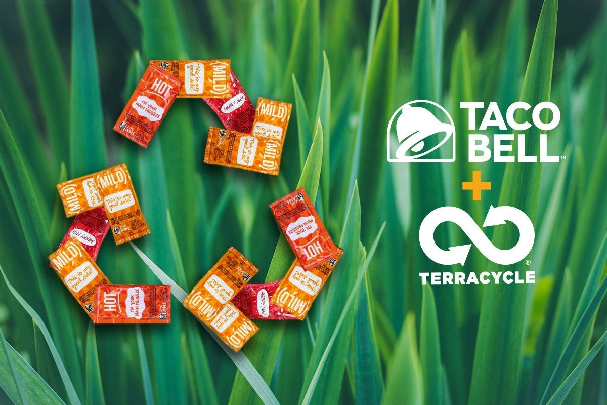 taco bell recyclable hot sauce