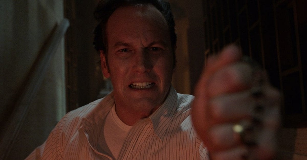 the conjuring patrick wilson devil made me do it header