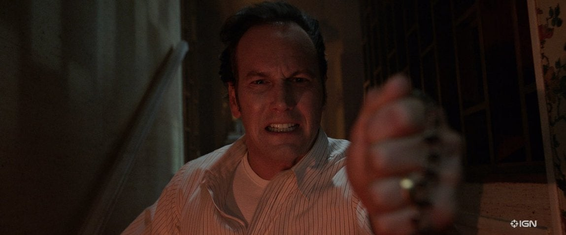the conjuring the devil made me do it patrick wilson ed warren