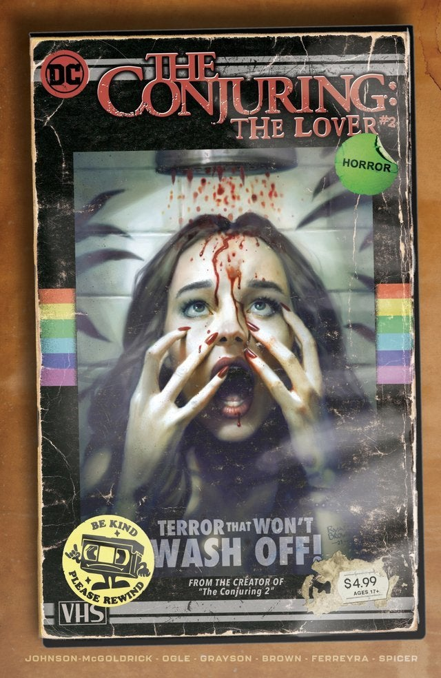 the conjuring the lover comic book variant cover