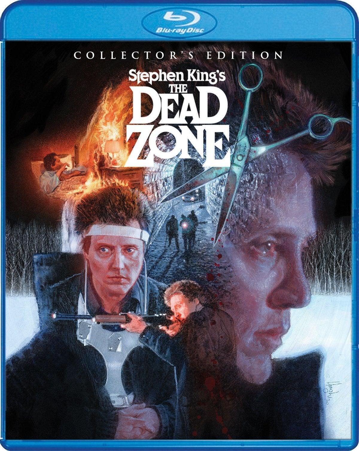 the dead zone blu ray cover scream factory