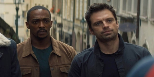 The Falcon and the Winter Soldier Anthony Mackie Sebastian Stan