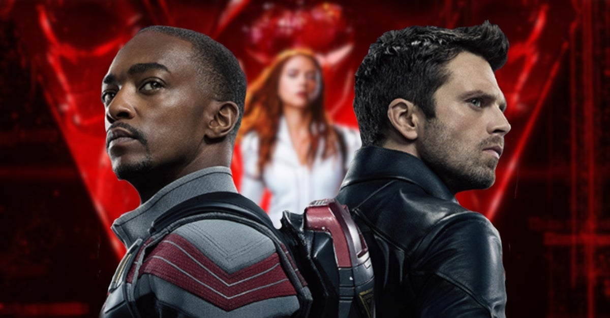 The Falcon and the winter soldier Black Widow movie Villain connections