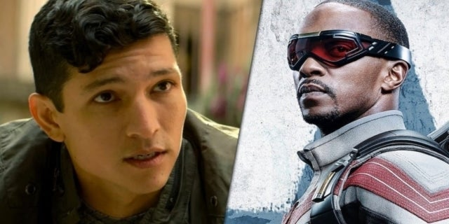 The Falcon and the Winter Soldier Danny Ramirez Anthony Mackie