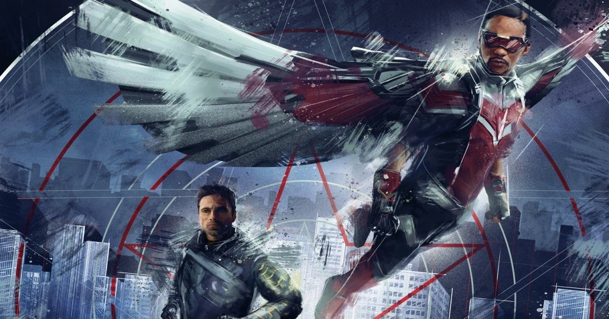 The Falcon and the Winter Soldier Marvel poster