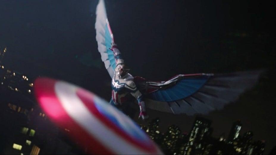 The Falcon and the Winter Soldier Sam Wilson Captain America