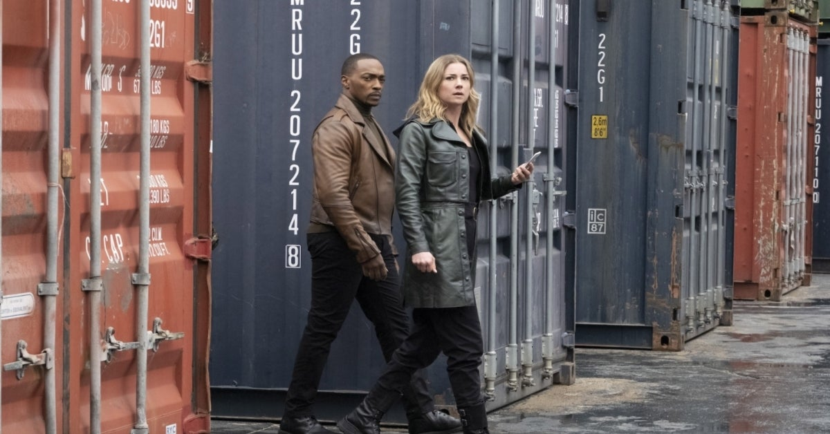 The Falcon and the Winter Soldier Sharon Carter Emily VanCamp Anthony Mackie