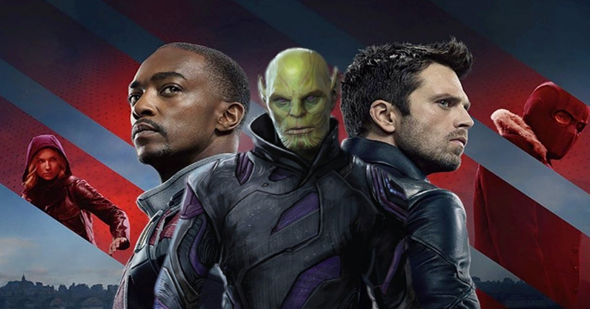 The Falcon and the Winter Soldier Sharon Carter Skrull