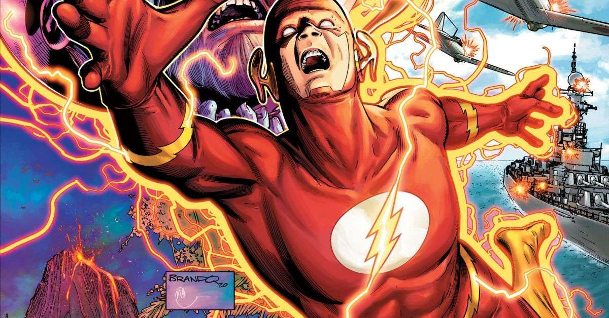the flash wally west stuck