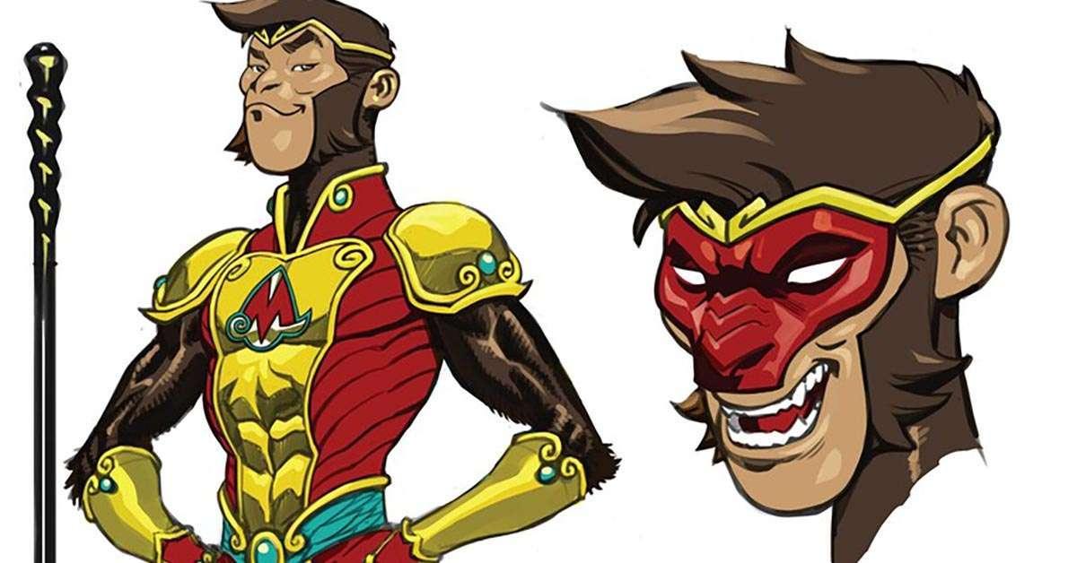the monkey prince dc comics